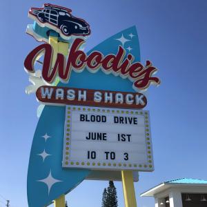 blood drive | Woodie's Wash Shack